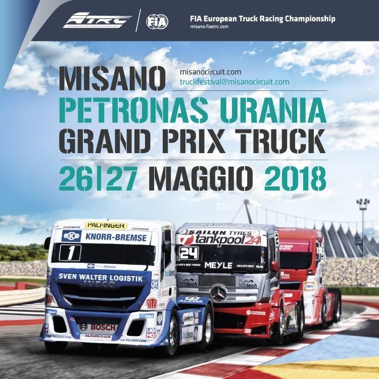 Misano Grand Prix Truck 2019 Maggio 25 e 26